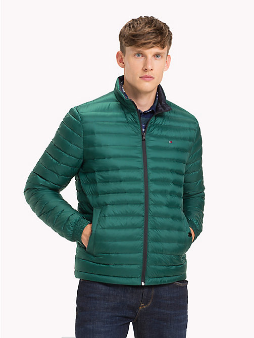 TOMMY HILFIGER Lightweight Packable Bomber Jacket - FOREST BIOME - TOMMY HILFIGER Clothing - main image