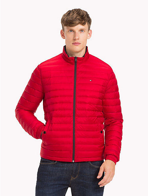TOMMY HILFIGER Lightweight Packable Bomber Jacket - HAUTE RED - TOMMY HILFIGER Jackets - main image