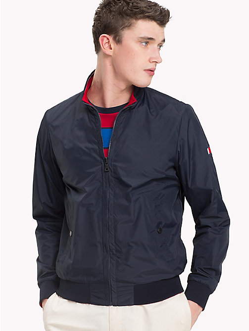 TOMMY HILFIGER Reversible Bomber Jacket - SKY CAPTAIN - TOMMY HILFIGER Clothing - main image