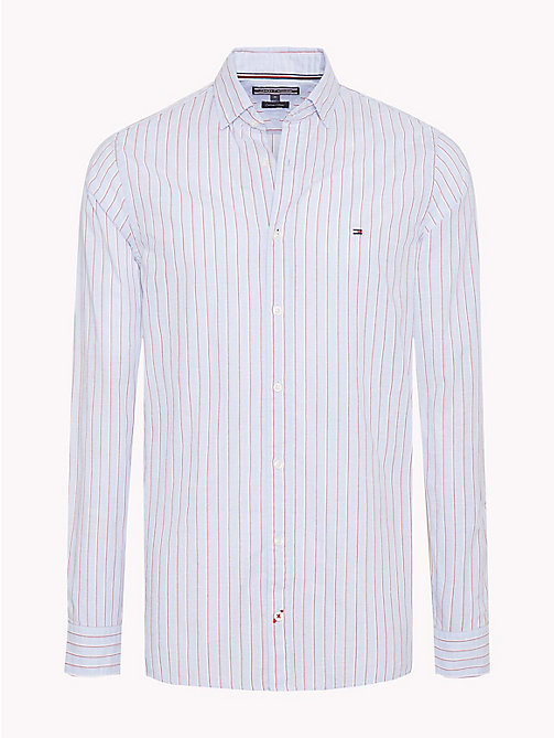 TOMMY HILFIGER Camicia regular fit con righe all over - SHIRT BLUE / MULTI - TOMMY HILFIGER Cosa indossare - immagine principale