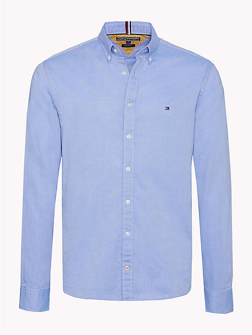 TOMMY HILFIGER Stripe Panel Regular Fit Shirt - SHIRT BLUE / MULTI - TOMMY HILFIGER Casual Shirts - main image