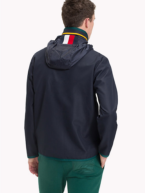 TOMMY HILFIGER Contrast Zip Jacket - SKY CAPTAIN - TOMMY HILFIGER NEW IN - detail image 1