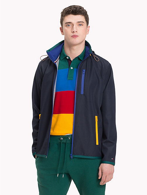 TOMMY HILFIGER Contrast Zip Jacket - SKY CAPTAIN - TOMMY HILFIGER NEW IN - main image