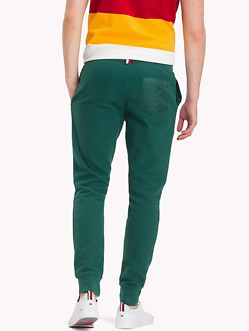 TOMMY HILFIGER Double Knit Sweatpants - FOREST BIOME - TOMMY HILFIGER Trousers & Shorts - detail image 1