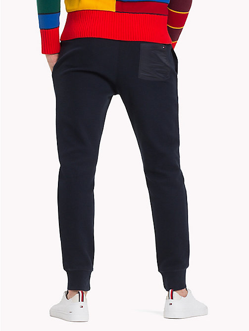 TOMMY HILFIGER Double Knit Sweatpants - SKY CAPTAIN - TOMMY HILFIGER Trousers & Shorts - detail image 1