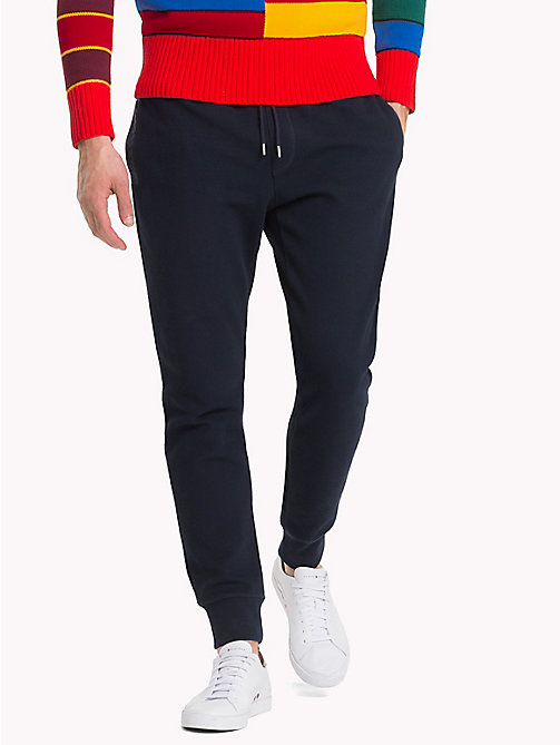 TOMMY HILFIGER Double Knit Sweatpants - SKY CAPTAIN - TOMMY HILFIGER Trousers & Shorts - main image