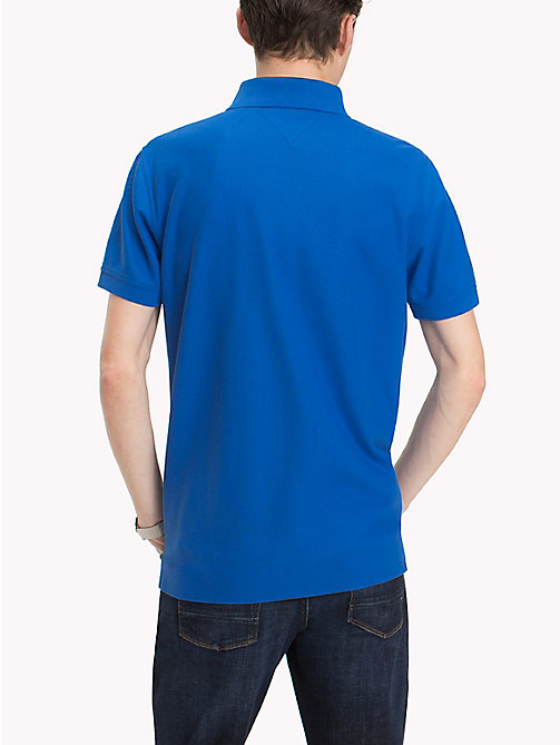 TOMMY HILFIGER Regular Fit Poloshirt - STRONG BLUE - TOMMY HILFIGER Urlaubs-Styles - main image 1