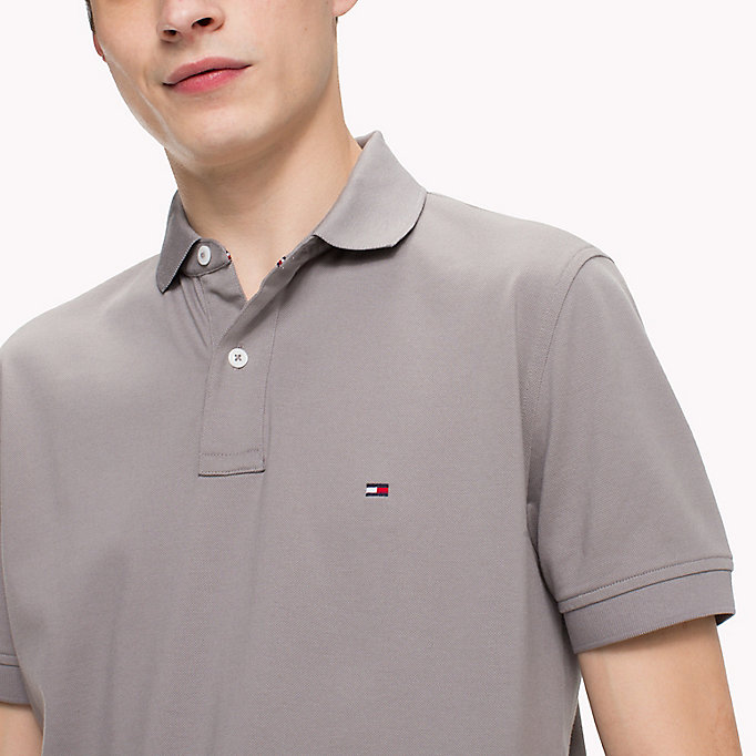 TOMMY HILFIGER Regular Fit Polo Shirt - FOREST BIOME - TOMMY HILFIGER Men - detail image 2
