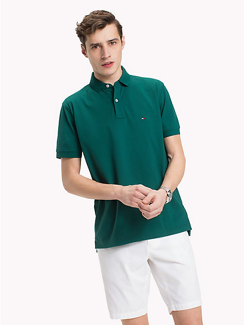 TOMMY HILFIGER Regular fit poloshirt - FOREST BIOME -  Polo's - main image