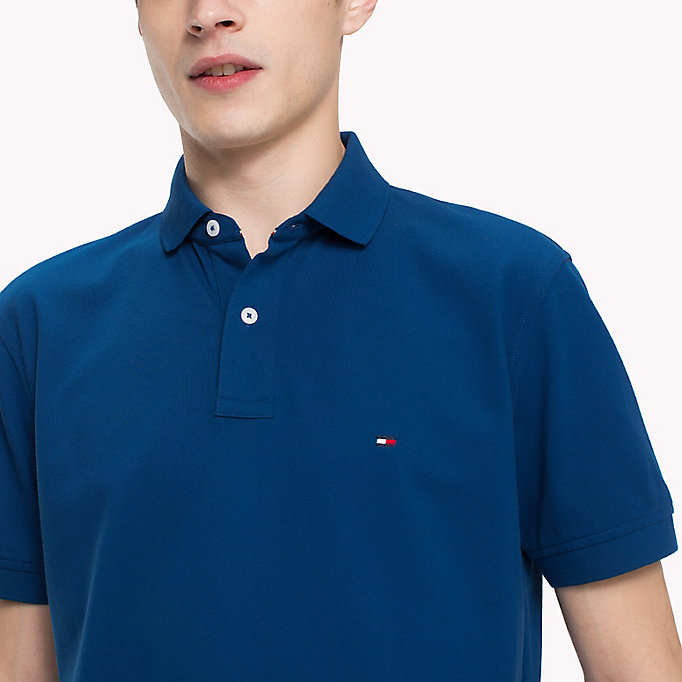 TOMMY HILFIGER Regular Fit Poloshirt - HAWAIIAN SURF - TOMMY HILFIGER Herren - main image 2
