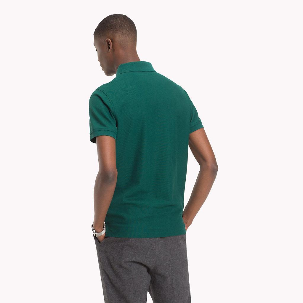 Tommy Hilfiger - Slim Fit Poloshirt aus Baumwolle - 2