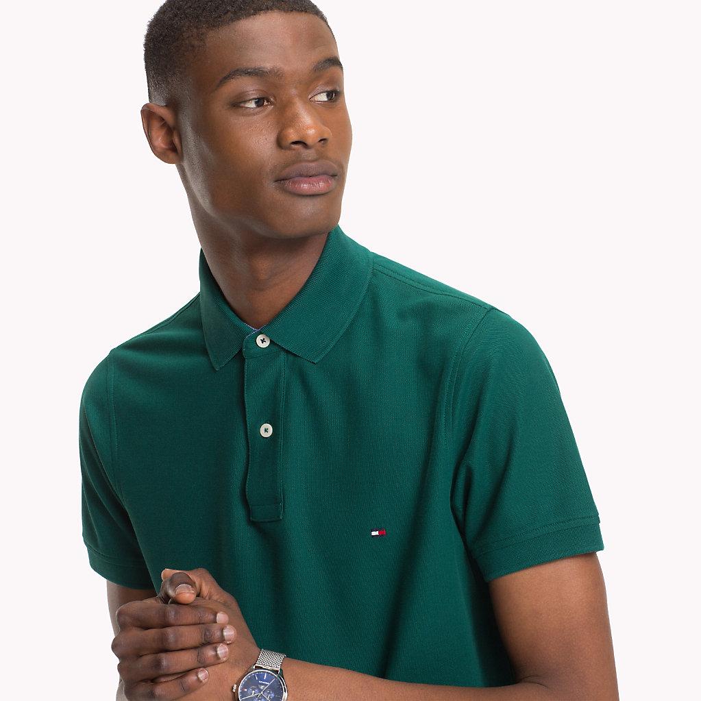 Tommy Hilfiger - Slim Fit Poloshirt aus Baumwolle - 3