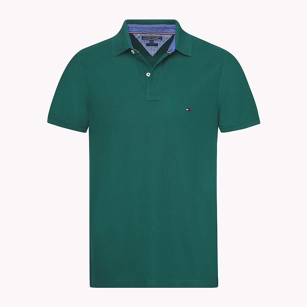 Tommy Hilfiger - Slim Fit Poloshirt aus Baumwolle - 4