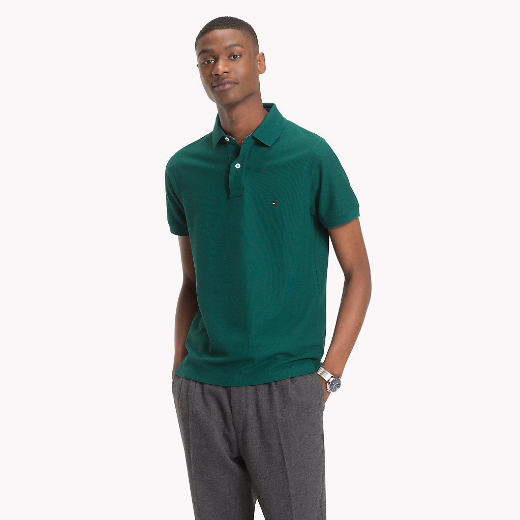 Tommy Hilfiger - Slim Fit Poloshirt aus Baumwolle - 1
