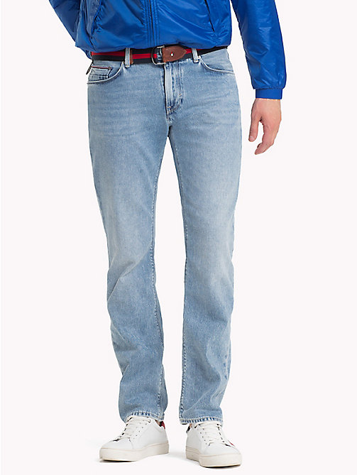 TOMMY HILFIGER Recycled Cotton Straight Fit Jeans - CAMPO INDIGO - TOMMY HILFIGER Sustainable Evolution - main image