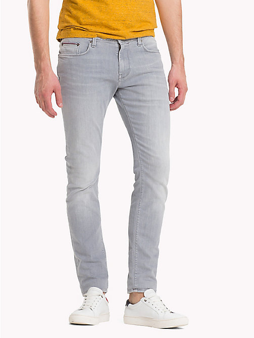 TOMMY HILFIGER Skinny Fit Denim Jeans - DACONO GREY - TOMMY HILFIGER Slim-Fit Jeans - main image