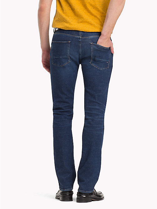 TOMMY HILFIGER Recycled Denim Straight Fit Jeans - CALHAN BLUE - TOMMY HILFIGER Sustainable Evolution - detail image 1