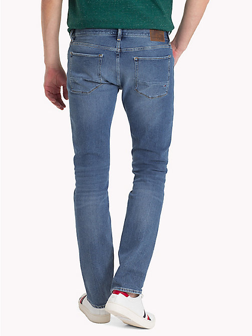 TOMMY HILFIGER Straight Fit Jeans - EADS INDIGO - TOMMY HILFIGER Straight Fit Jeans - main image 1
