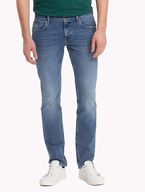 TOMMY HILFIGER Straight Fit Jeans - EADS INDIGO - TOMMY HILFIGER Straight Fit Jeans - main image