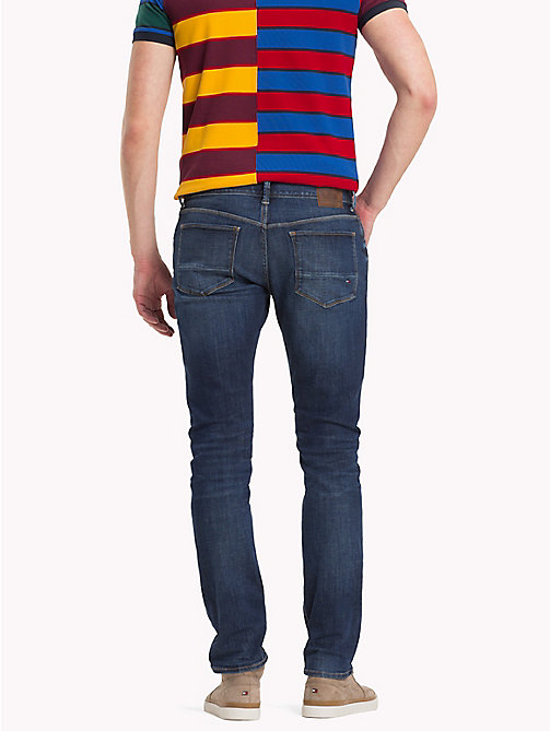 TOMMY HILFIGER Desert Explorer Skinny Fit Jeans - FRISCO BLUE - TOMMY HILFIGER Clothing - detail image 1