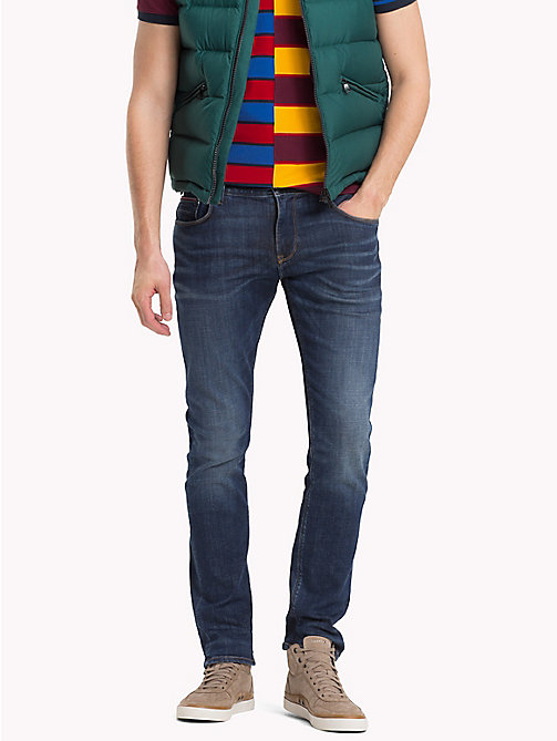 TOMMY HILFIGER Desert Explorer Skinny Fit Jeans - FRISCO BLUE - TOMMY HILFIGER Clothing - main image