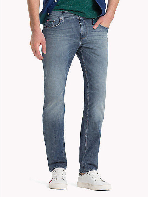 TOMMY HILFIGER Slim Fit Stretch Jeans - GRANBY BLUE - TOMMY HILFIGER Slim-Fit Jeans - main image