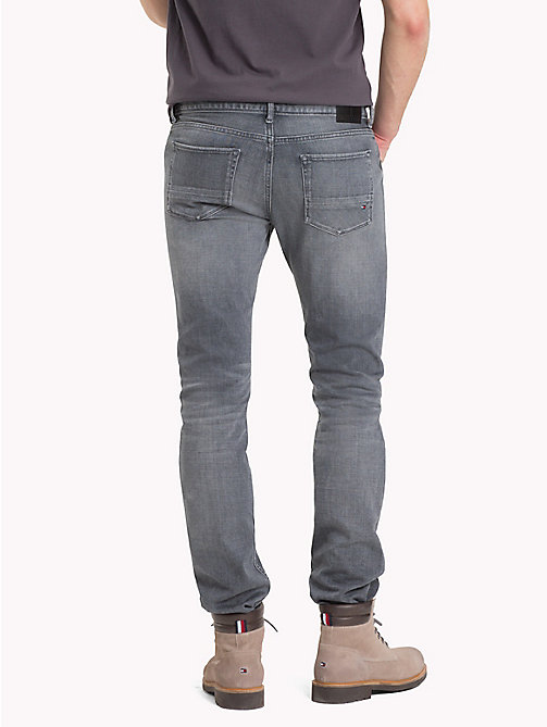 TOMMY HILFIGER Jeans stretch slim fit - FLEMING GREY - TOMMY HILFIGER Jeans Slim-Fit - dettaglio immagine 1