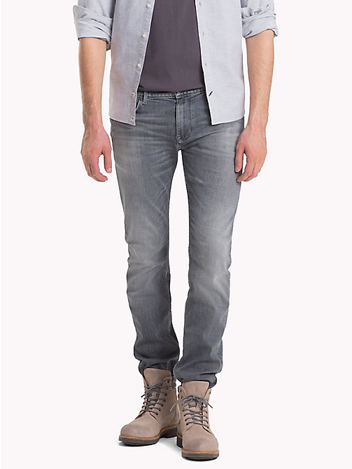 TOMMY HILFIGER Slim Fit Stretch Jeans - FLEMING GREY - TOMMY HILFIGER Slim-Fit Jeans - main image