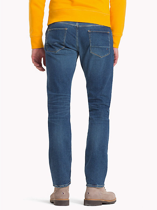 TOMMY HILFIGER Straight Fit Jeans - ARVADA BLUE - TOMMY HILFIGER Straight Fit Jeans - main image 1