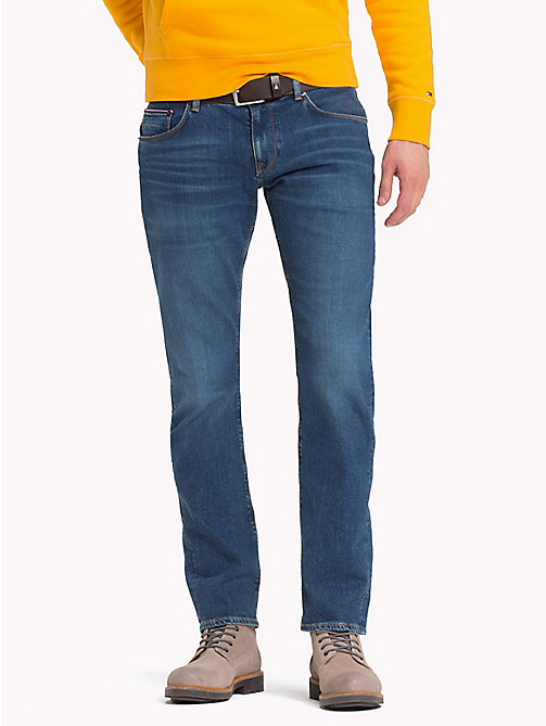 TOMMY HILFIGER Straight Fit Jeans - ARVADA BLUE - TOMMY HILFIGER Straight Fit Jeans - main image