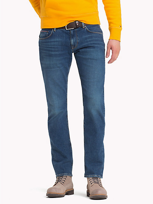 TOMMY HILFIGER Straight Fit Jeans - ARVADA BLUE - TOMMY HILFIGER Clothing - main image