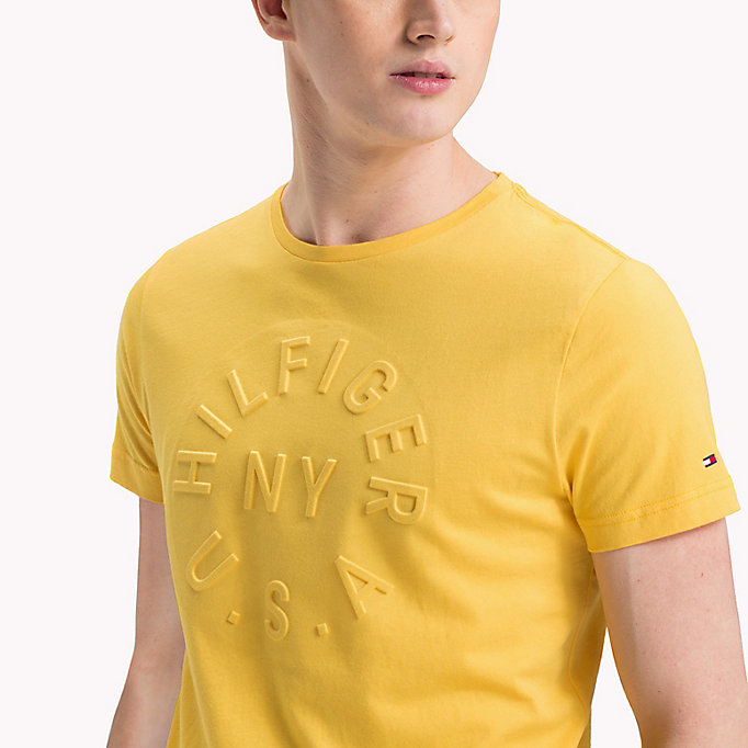 TOMMY HILFIGER Embossed Graphic T-Shirt - HAWAIIAN SURF - TOMMY HILFIGER Men - detail image 2