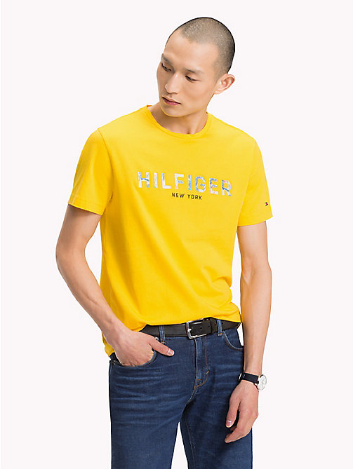 TOMMY HILFIGER Tommy Hilfiger Logo T-Shirt - FREESIA - TOMMY HILFIGER Vacation Style - main image