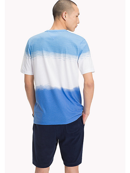 TOMMY HILFIGER Relaxed Fit T-Shirt mit Ombre-Effekt - BONNIE BLUE - TOMMY HILFIGER Urlaubs-Styles - main image 1