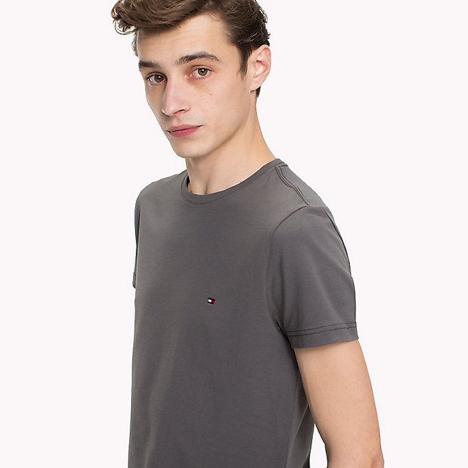 TOMMY HILFIGER Slim Fit T-Shirt - ZINNIA - TOMMY HILFIGER Men - detail image 2