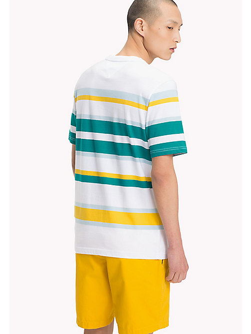 TOMMY HILFIGER Cotton Stripe T-Shirt - FANFARE - TOMMY HILFIGER Vacation Style - detail image 1