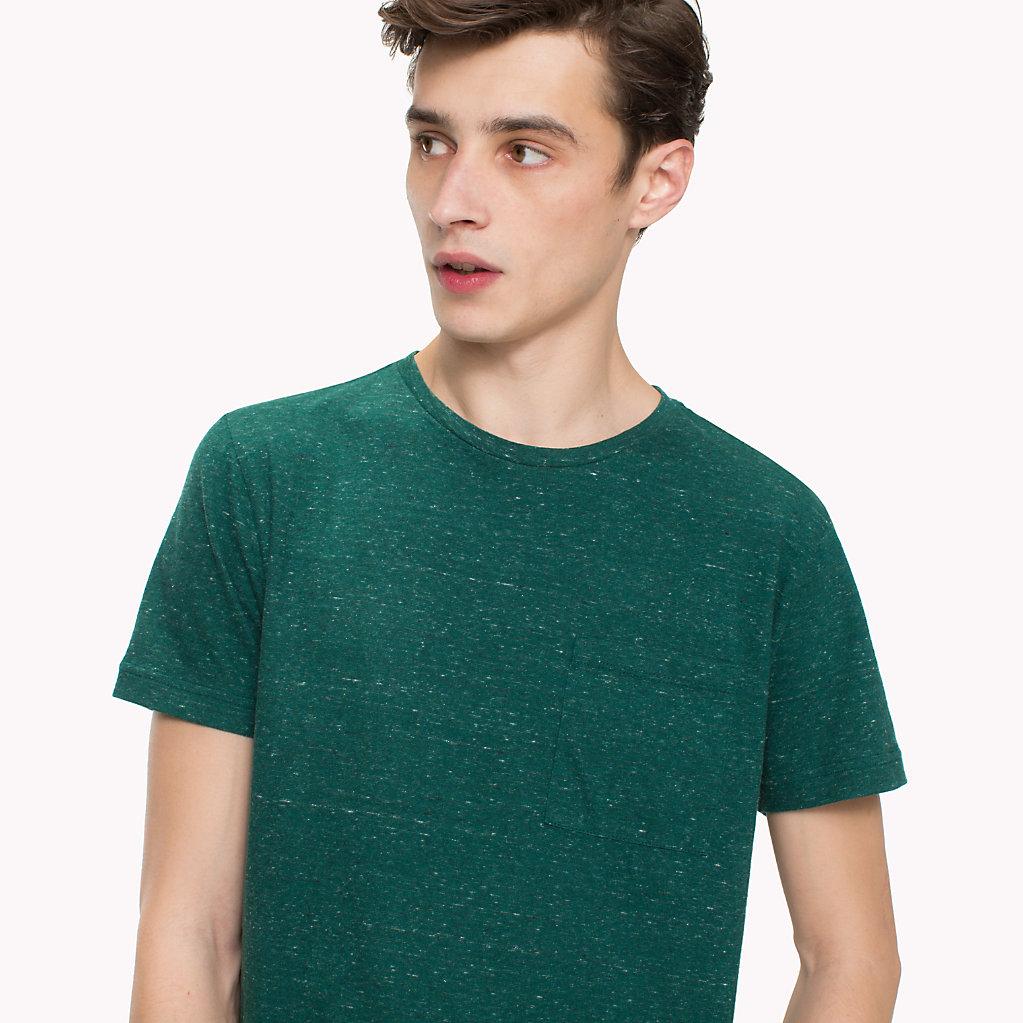Tommy Hilfiger - T-Shirt mit aufgesetzter Tasche - 3