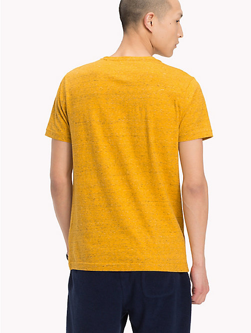 TOMMY HILFIGER T-shirt con tasca applicata - ZINNIA HEATHER - TOMMY HILFIGER T-Shirts - dettaglio immagine 1