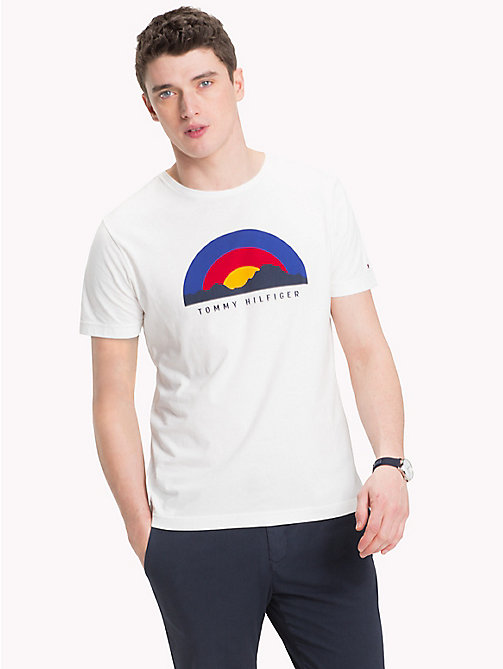 TOMMY HILFIGER Sunrise Regular Fit T-Shirt - SNOW WHITE - TOMMY HILFIGER T-Shirts - main image