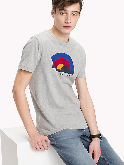 TOMMY HILFIGER Sunrise Regular Fit T-Shirt - CLOUD HTR - TOMMY HILFIGER T-Shirts - main image