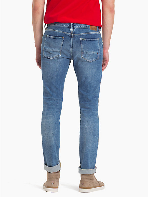 TOMMY HILFIGER Jeans slim fit in denim - BETHUNE BLUE - TOMMY HILFIGER Jeans Slim-Fit - dettaglio immagine 1