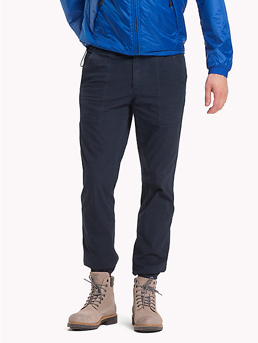 TOMMY HILFIGER Straight Fit Ripstop Joggers - SKY CAPTAIN - TOMMY HILFIGER Clothing - main image