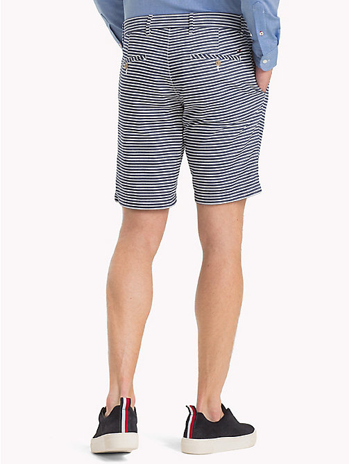 TOMMY HILFIGER Seersucker Stripe Shorts - SKY CAPTAIN - TOMMY HILFIGER Trousers & Shorts - detail image 1