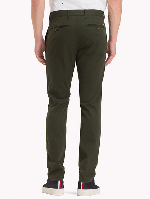 TOMMY HILFIGER Pima Cotton Straight Fit Chinos - ROSIN - TOMMY HILFIGER Chinos - detail image 1