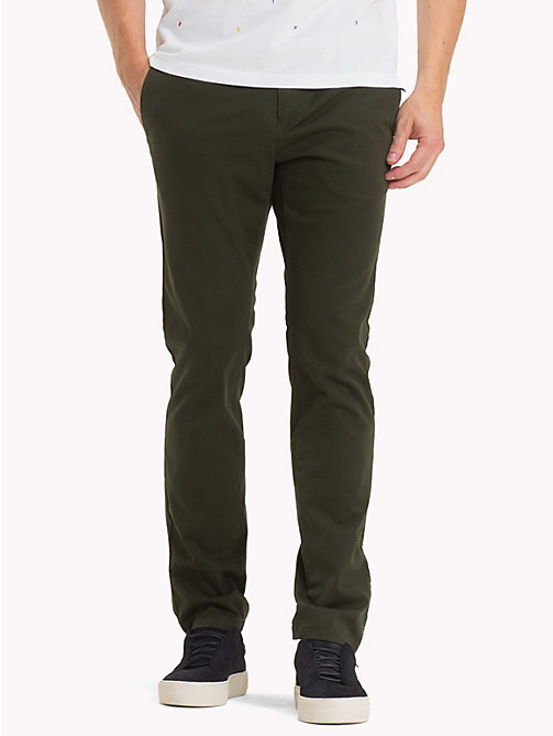 TOMMY HILFIGER Pima Cotton Straight Fit Chinos - ROSIN - TOMMY HILFIGER Chinos - main image