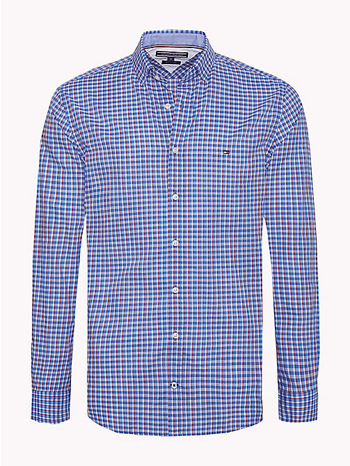 TOMMY HILFIGER Multicoloured Check Shirt - HAUTE RED / MULTI - TOMMY HILFIGER Casual Shirts - main image