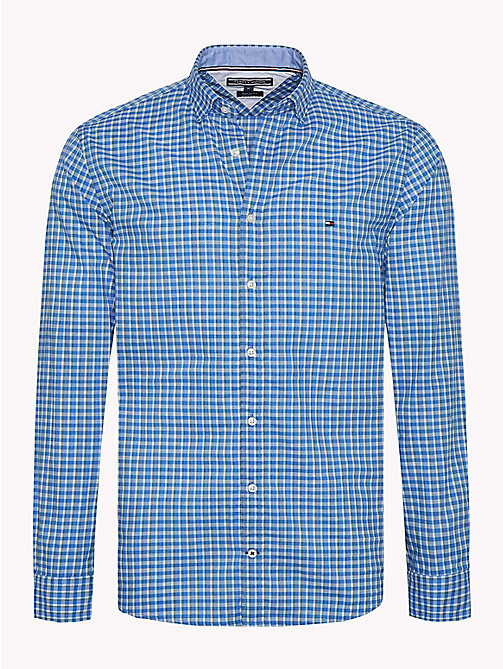 TOMMY HILFIGER Multicoloured Check Shirt - POSY GREEN / MULTI - TOMMY HILFIGER Casual Shirts - main image