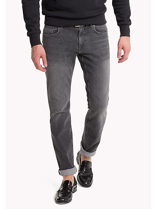 TOMMY HILFIGER Faded Regular Fit Jeans - CHANDLER GREY - TOMMY HILFIGER Regular-Fit Jeans - main image