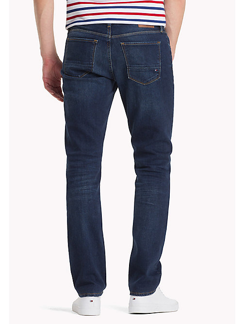 TOMMY HILFIGER Stretch Regular Fit Jeans - NEW DARK STONE - TOMMY HILFIGER Clothing - detail image 1