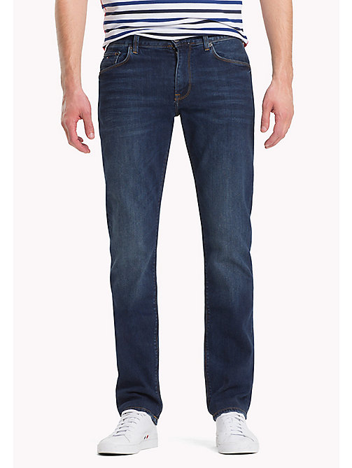TOMMY HILFIGER Stretch Regular Fit Jeans - NEW DARK STONE - TOMMY HILFIGER Regular-Fit Jeans - main image